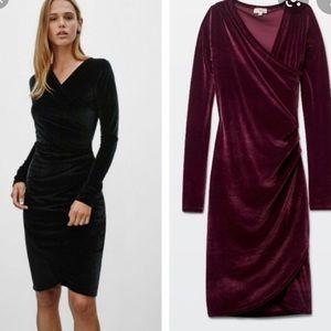 Wilfred Velvet Bodycon Dress